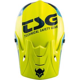 TSG Squad Graphic Design Fietshelm Heren geel